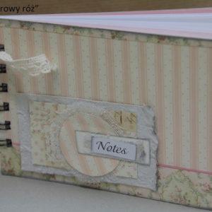"Notes ""Pudrowy róż"""