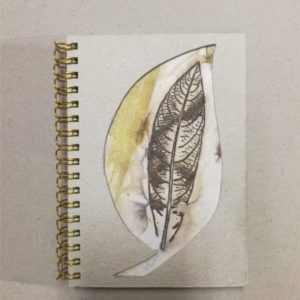Notes z okładką eco-print
