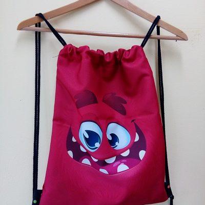 Worko-plecak z uśmiechem