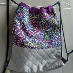 worko-plecak   z pikowanym dołem