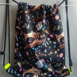 Worko-plecak wzór krawiecki