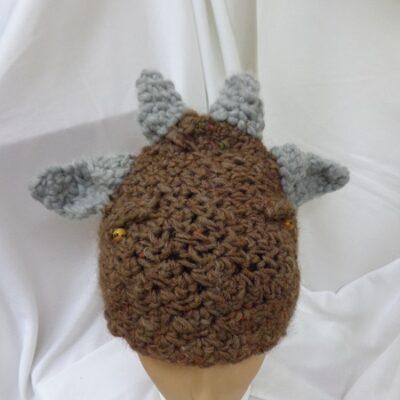 Wełniana czapka – koziołek