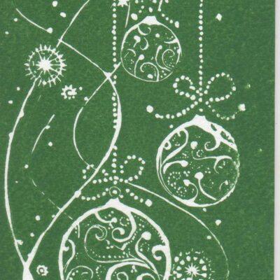 Kartka bożonarodzenowa IV