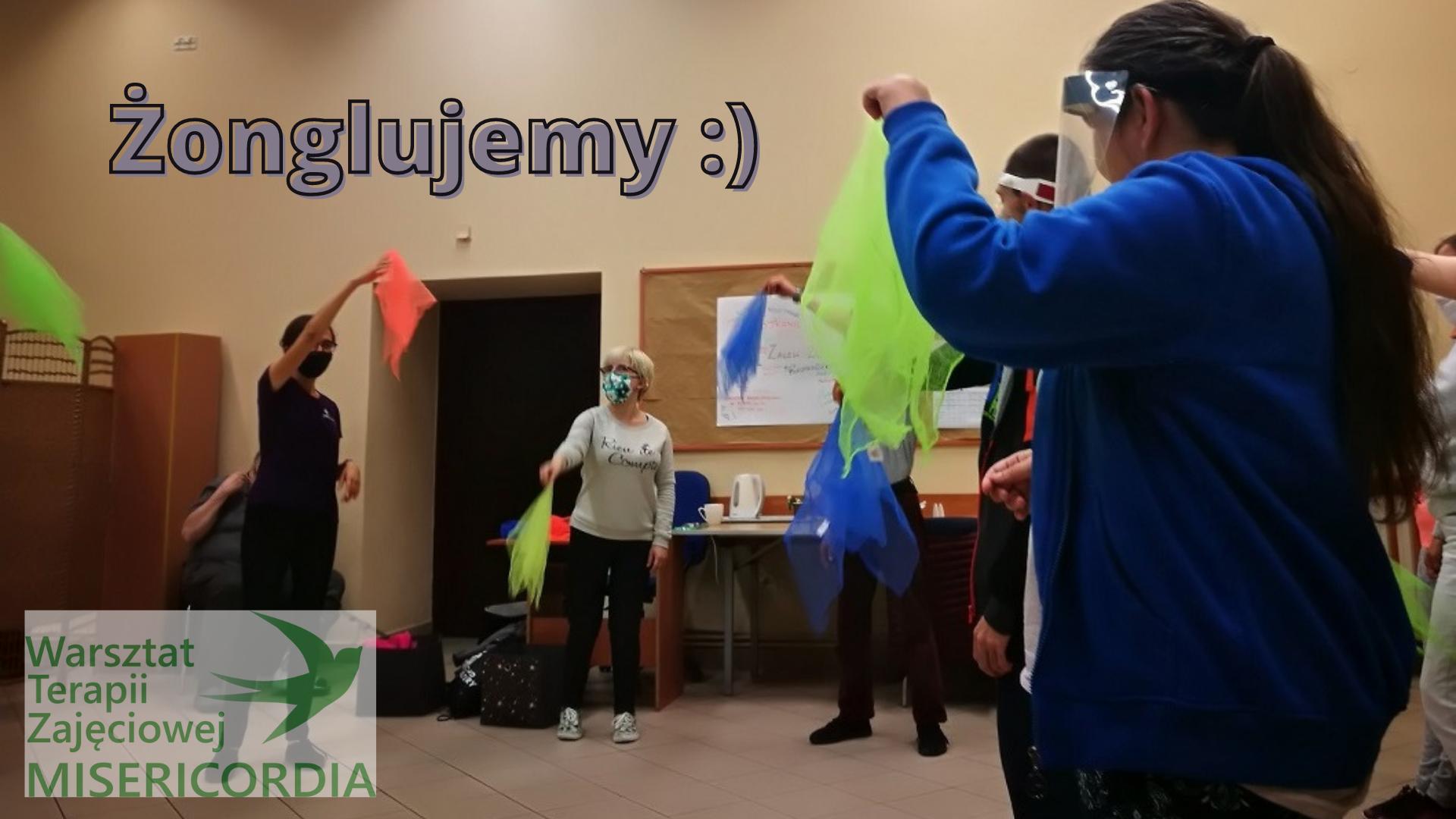 Żonglowanie w WTZ