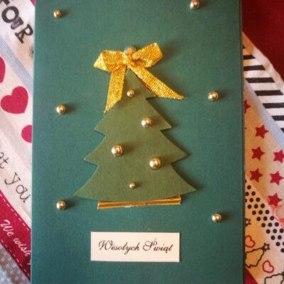 Kartka Świąteczna- Boże Narodzenie