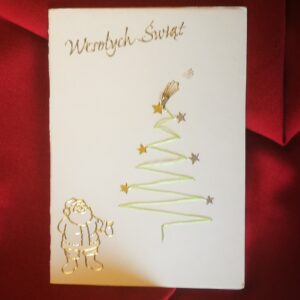 Kartka świąteczna – Boże Narodzenie
